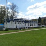  This barge is used as a function room
