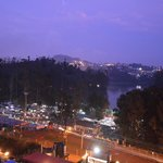  ooty lake a night view ,see the color play