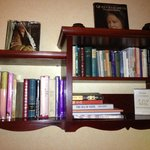 Book shelf in the room
