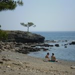  Phaselis beach