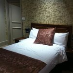 Double room at front of hotel