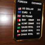  fortune hotel also can exchange currency, this is a great resource to have, when the bank is clo