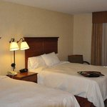 Two Queen Room at the Hampton Inn Rock Springs