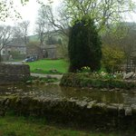 In Malham village