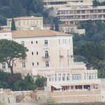 the view of the hotel from Saint-Jean-Cap-Ferrat