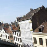 view to the grand place from our room #152