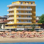Hotel Carnaby- vista dal mare