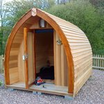  Glamping pod!