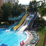 Waterslide pool