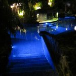  salt-water pool that runs through the property