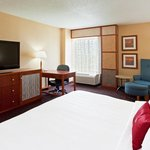Enjoy complimentary Wi-Fi access and high def flatscreen TV