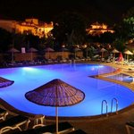  The pool at night at Club Sun Village