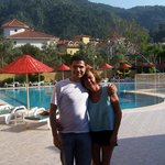  With my lovely friend Tom at Club Sun Village