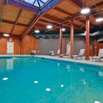 Our Indoor Pool always heated to a comfortable 85 degrees