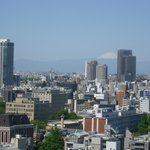  View from room 1752 with Mt Fuji in the distance