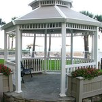 Oceanfront Gazebo. Great location for Wedding Ceremony