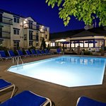  Enjoy our heated outdoor pool at night and unwind.