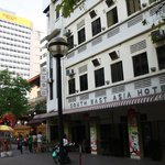  The front of South East Asia Hotel