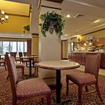 Enjoy a hearty breakfast in our dining area.
