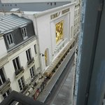 View of Folies Bergere from 6th floor room