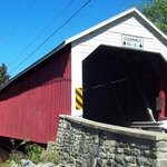 Covered Bridge near Holiday Inn Express - New Columbia