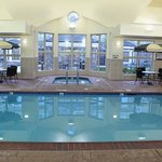 Enjoy our indoor pool after a long day