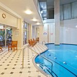  Indoor Heated Swimming Pool at the Holiday Inn Hotel and Suites
