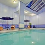 Relax and enjoy our indoor swimming pool with whirlpool