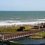  View from our room at Myrtle Beach Resort