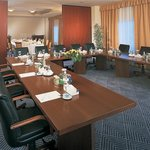 Meeting room with sea views