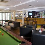  Play pool in the bar and lounge
