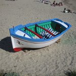  barque sur la plage