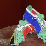 Beaded Soccer Boots