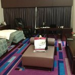 Executive room at the Dubai International Hotel