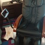  Massage chair at the Dubai International Airport Hotel