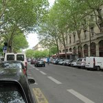 street view-great location-one block to the Seine or the rue de Rivoli shopping