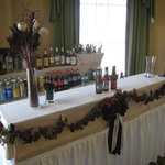 Bar in the Prefunction Area