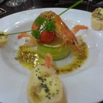  Gorgeous Starter of Plated Prawns