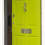  Our Lovely Green Front Door