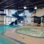  Indoor Pool with waterslide, hot tub