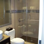 Guest Bathroom at the Holiday Inn, a 5th avenue vacation hotel