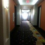  Guest Rooms Hallways, Holiday Inn Kemah Near Boardwalk