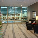  Lobby view of our Indoor Pool Area