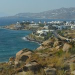  Mykonos Town viewed from room 208