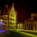 Leuven at night