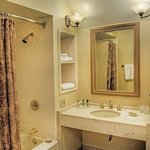 One King Guest Room Bathroom