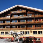  Winter in the Hotel Lauberhorn