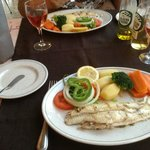 Delicious Grilled Sole (off the bone)