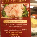 Chan&#39;s Gourmet