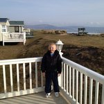  Outside caravan at granny&#39;s helian hame
